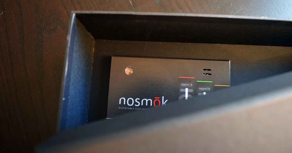 Nosmok light sensor sound module.