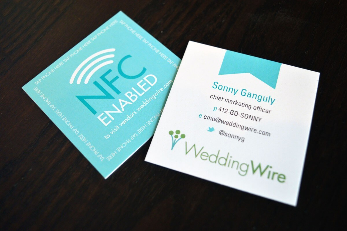 Weddingwire nfc business cards bigdawgs reheart Choice Image