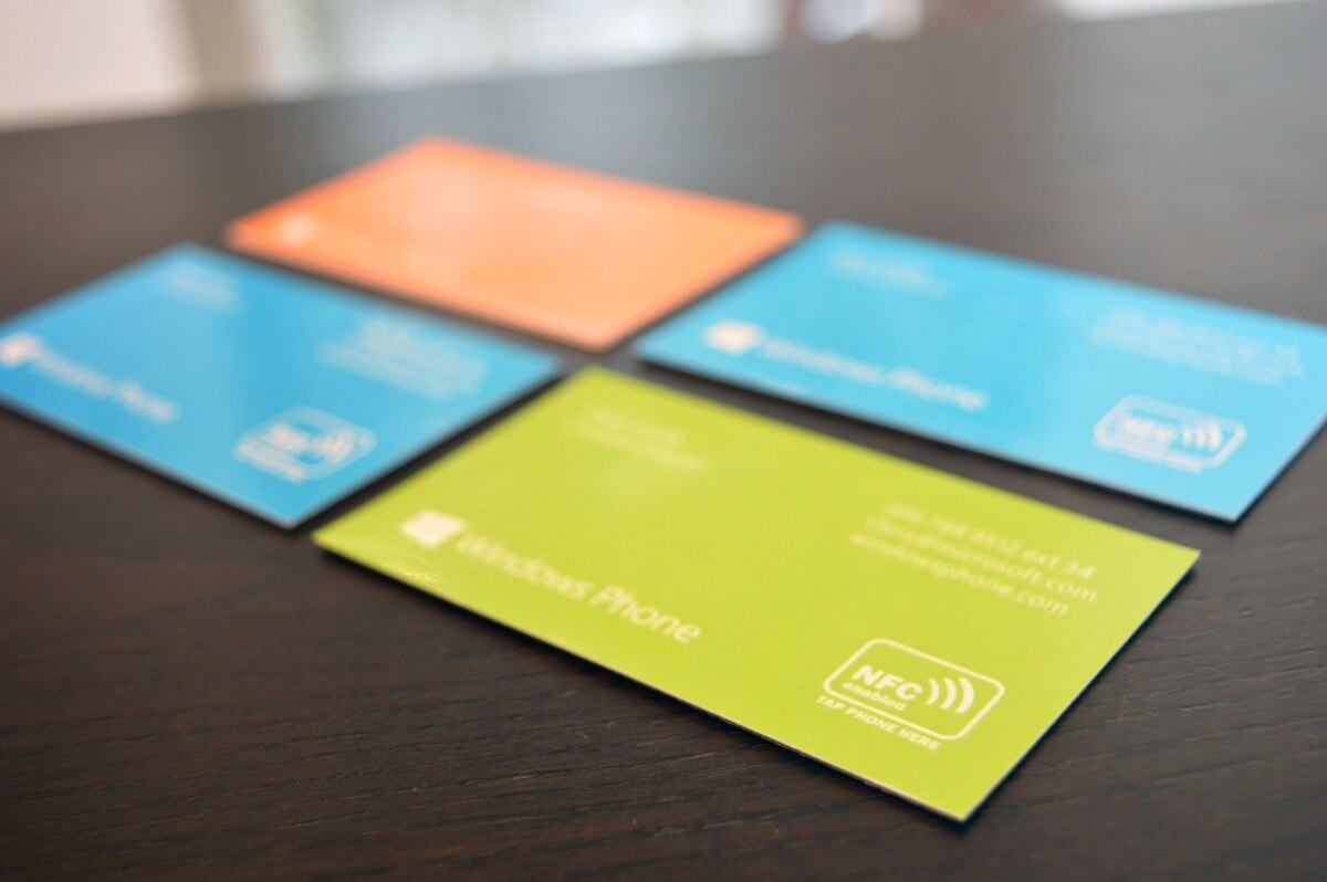 Microsoft - NFC Business card magnets - bigDAWGS