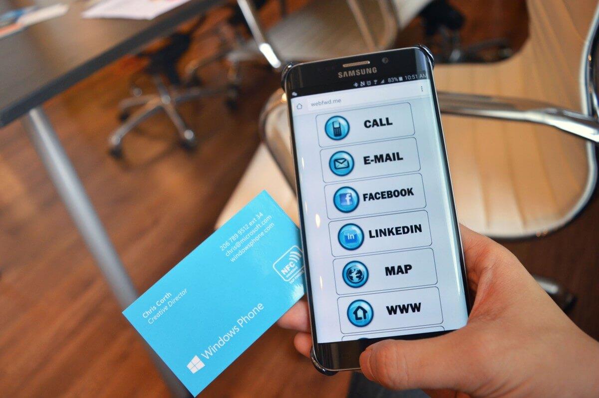NFC Magnets - Windows Phone - NFC
