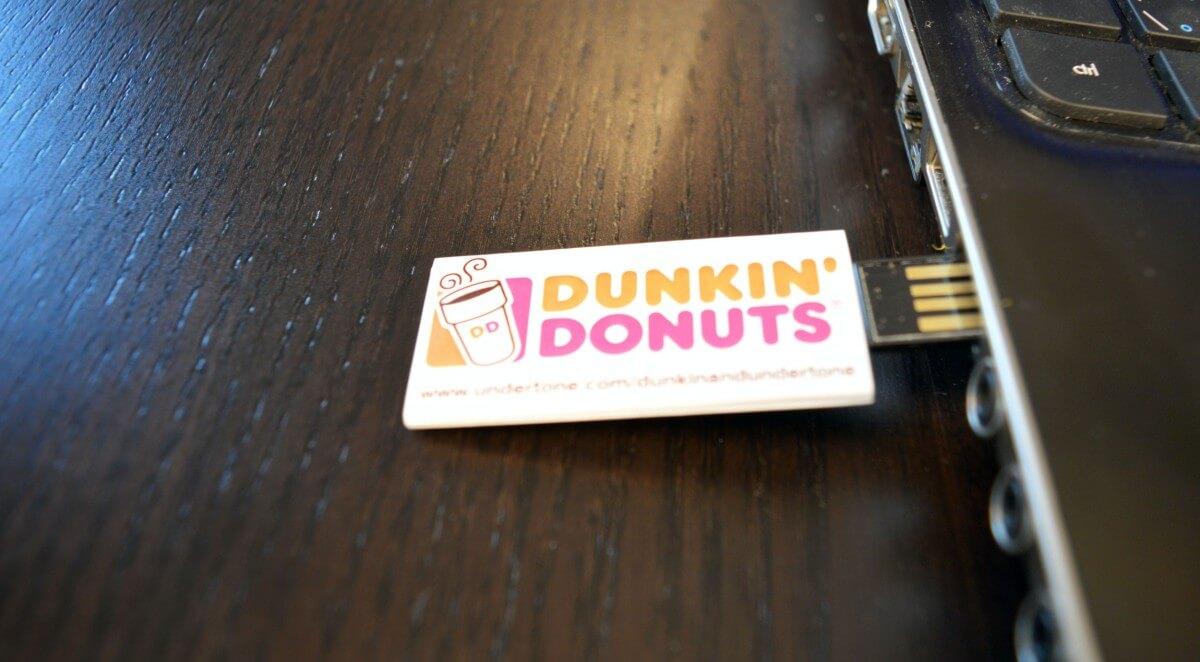 webMAGNET - Dunkin' Donuts - usb