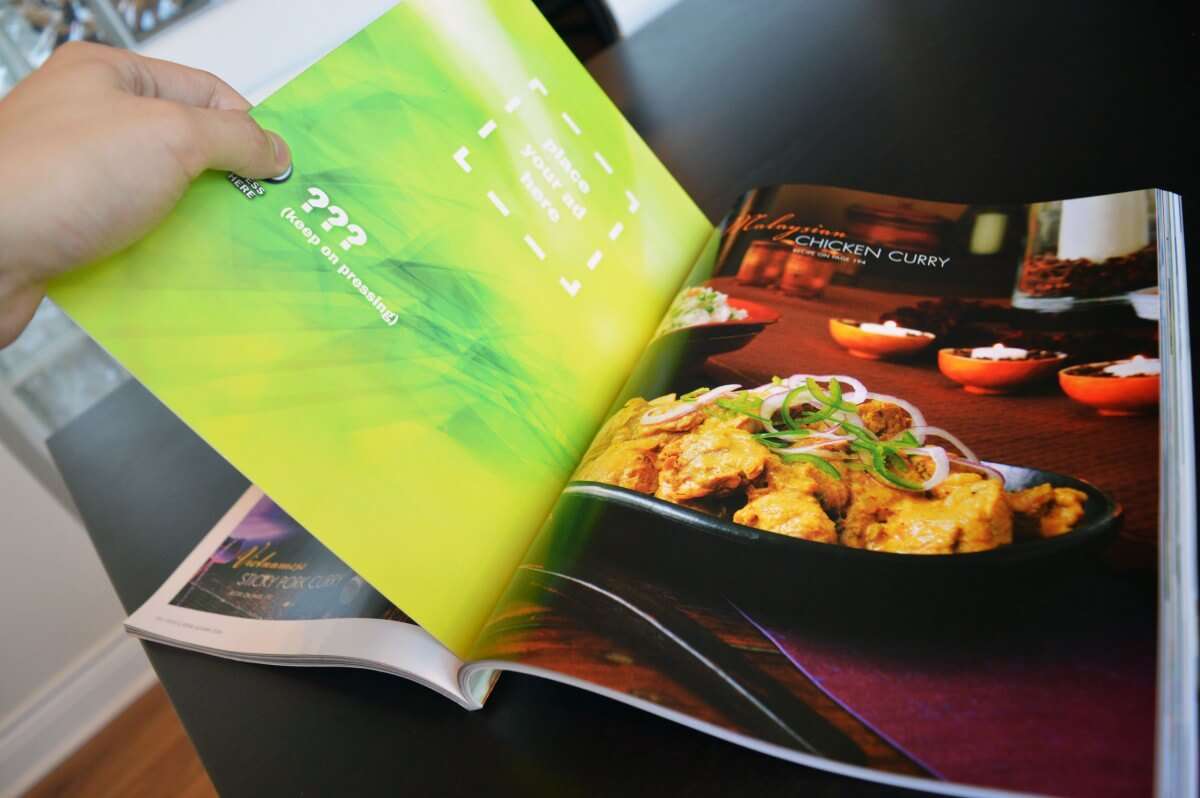 bigDAWGS custom magazine insert with audio