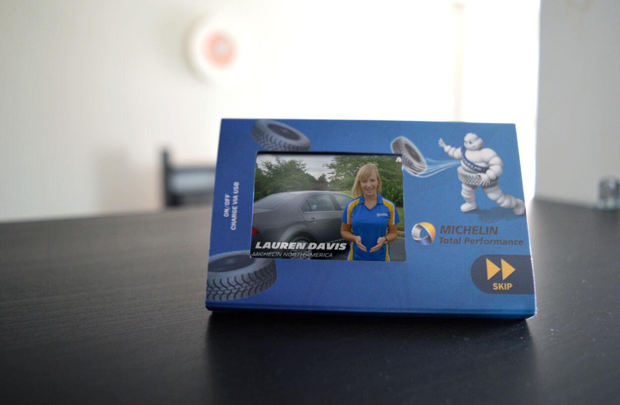 Michelin mini video display