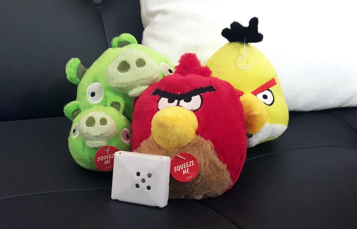 Sound box for stuffed animals