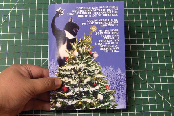 Mega Cat Studios Custom Audio Greeting Card