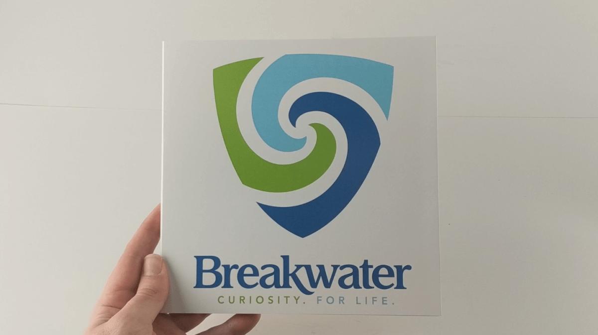 Breakwater front